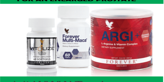 NEW PROSTATE NATURAL REMEDY PACK